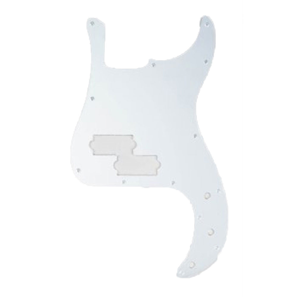 ALLPARTS PICKGUARDS 8040 Mirror Pickguard for Precision Bass プレシジョンベースピックガード
