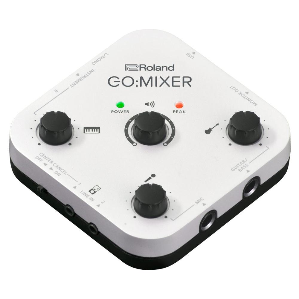 供ROLAND GO:MIXER智慧型手機使用的聲頻混頻器