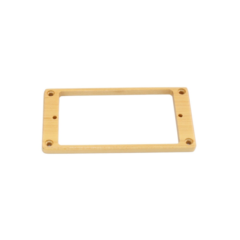 ALLPARTS PICKUP RINGS 8247 Humbucking Pickup Ring Non-slanted Maple エスカッション フロント用 リア用各1個入り
