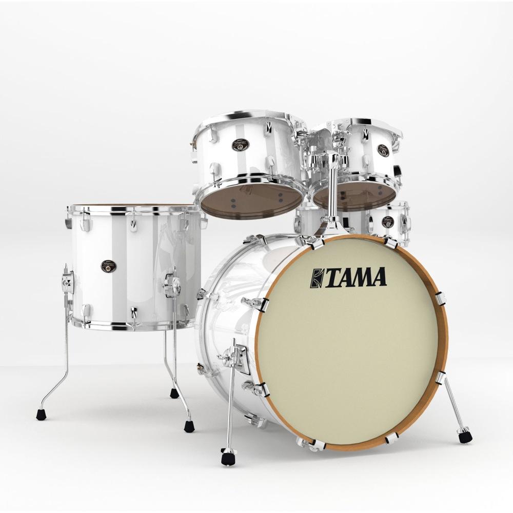 """TAMA ドラムセット VP52KRS-PWH Silverstar Silverstar VP52KRS-PWH 22"""" バスドラムシェルキット ドラムセット, ネームインポエムWILLBE:00697cfc --- officewill.xsrv.jp"""