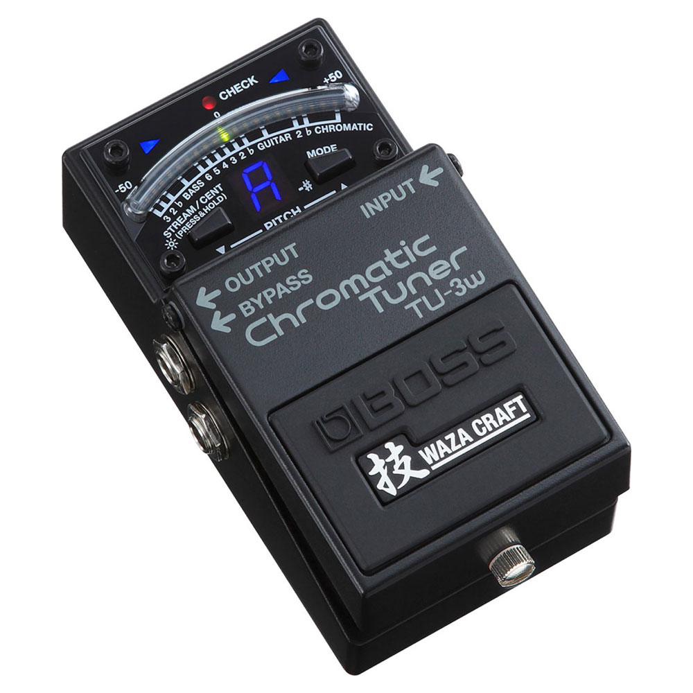 BOSS TU-3W(J) Chromatic Tuner WAZA CRAFTシリーズ ギターチューナー