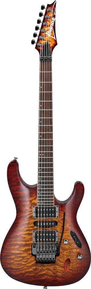 IBANEZ S670QM DEB エレキギター