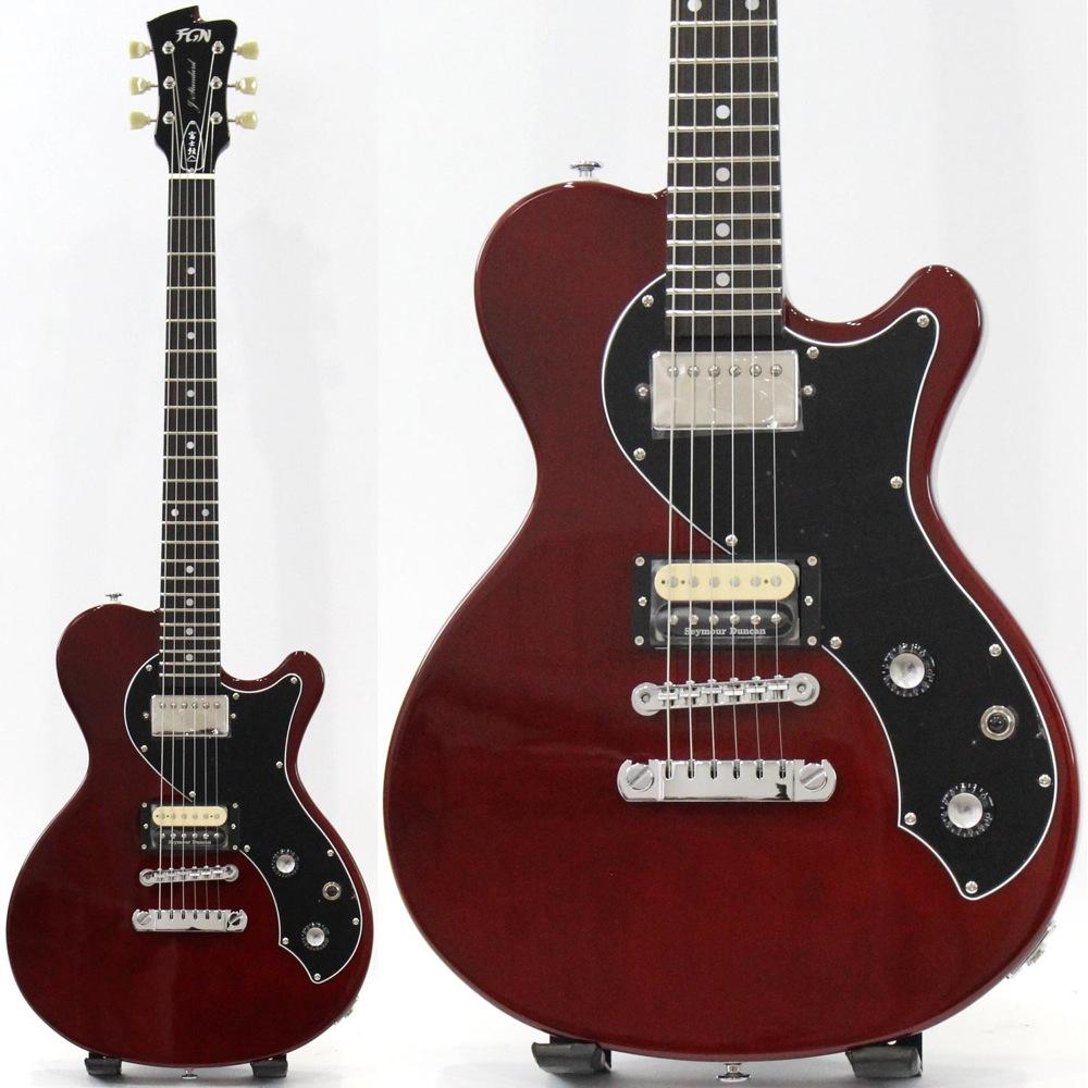 FUJIGEN JFL-FT-HH CH J-Standard FLAME エレキギター