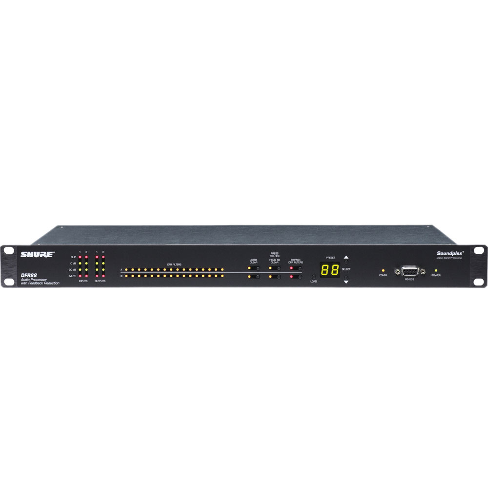 SHURE DFR22J デジタルプロセッサー