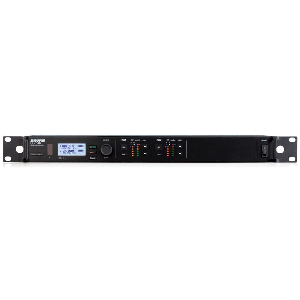 SHURE ULXD4D-AB ワイヤレス受信機