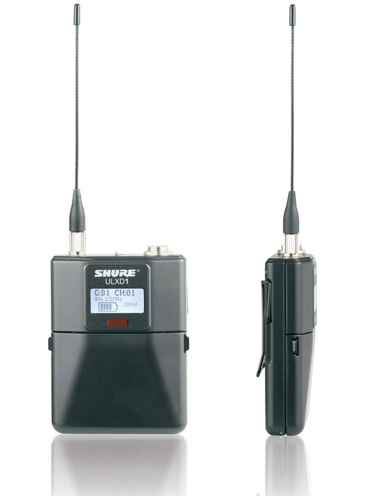 SHURE ULXD1-JB ボディーパック型送信機