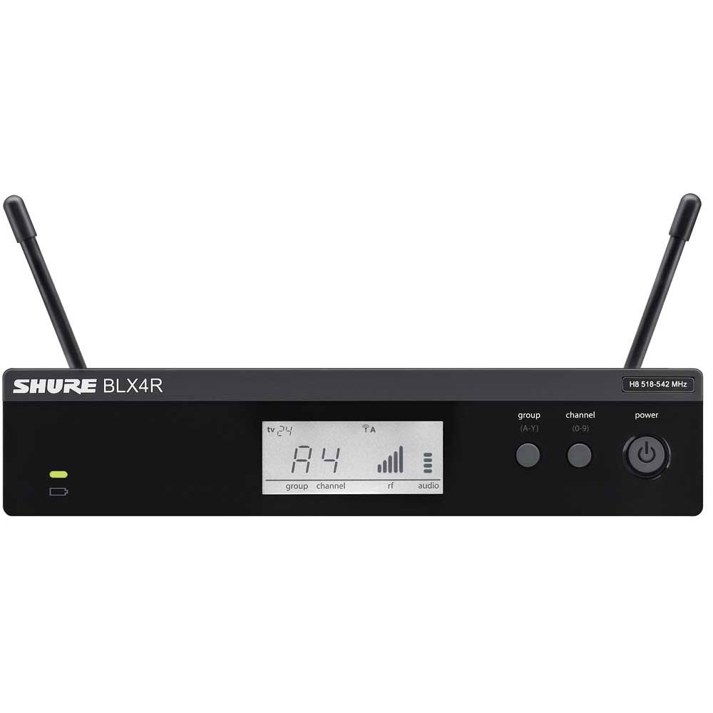 SHURE BLX4R BLX Wireless B型シングルチャンネル・ダイバーシティ受信機