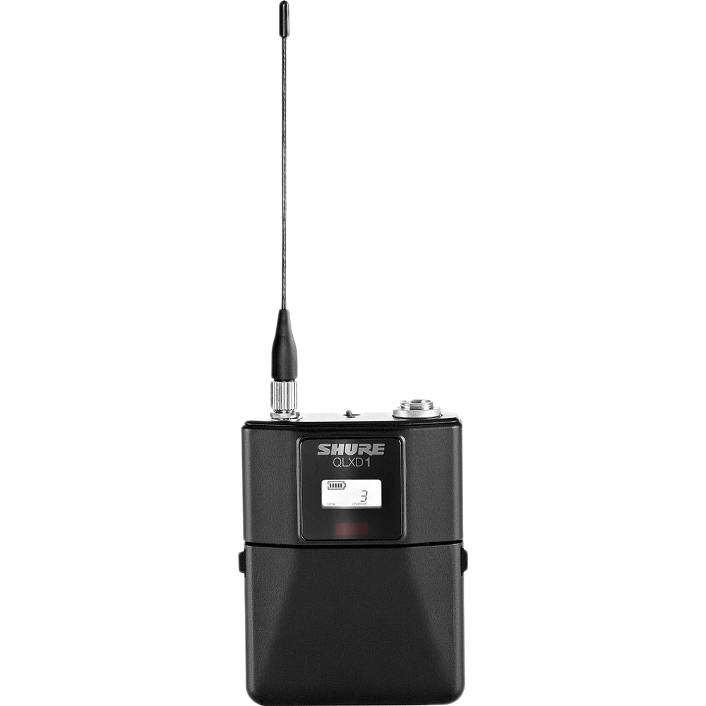 SHURE QLXD1-L53 ワイヤレスシステム ボディーパック型送信機