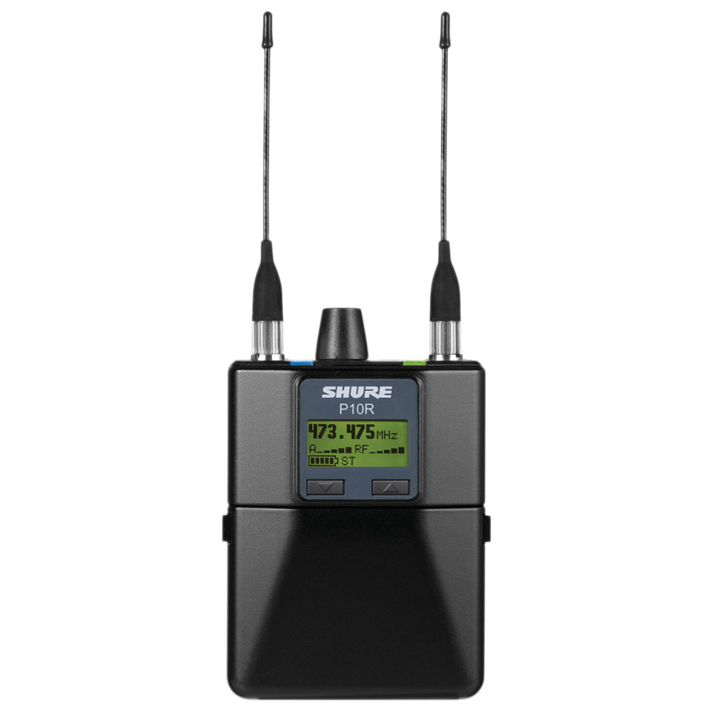 SHURE P10R-G10J インイヤー・モニターシステム 受信機