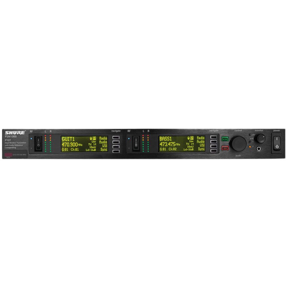 SHURE P10T-L8J インイヤー・モニターシステム 送信機