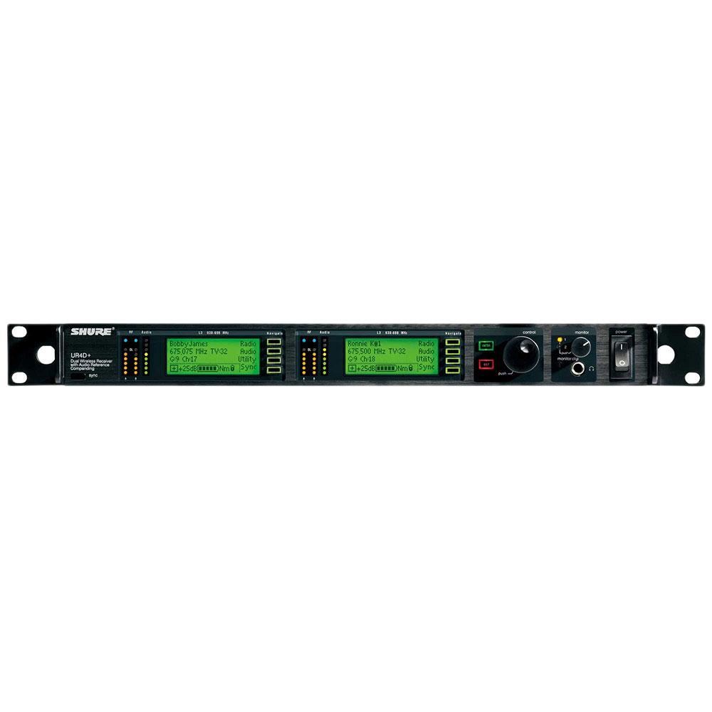 SHURE UR4D+-H4HK デュアルチャンネル・ダイバーシティ受信機