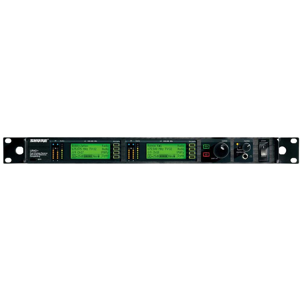 SHURE UR4D+-G1HK デュアルチャンネル・ダイバーシティ受信機