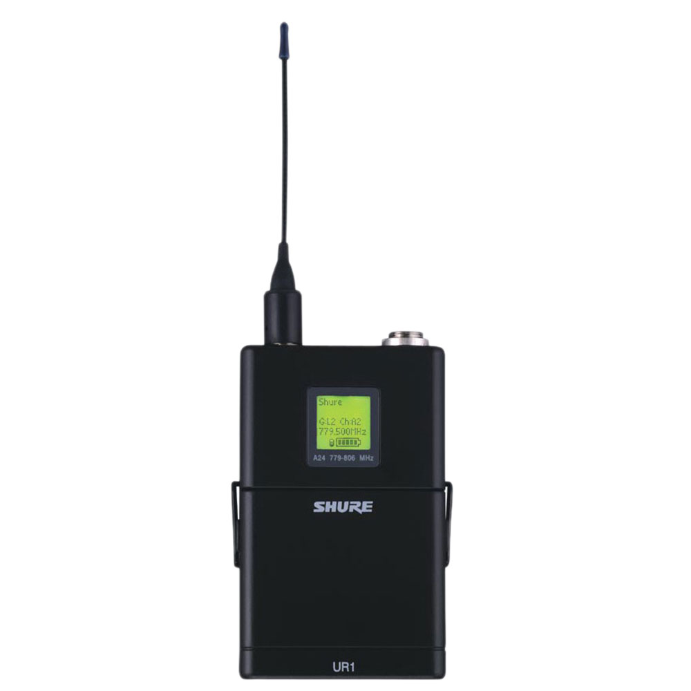 SHURE UR1-H4HK ワイヤレスシステム ボディパック型送信機
