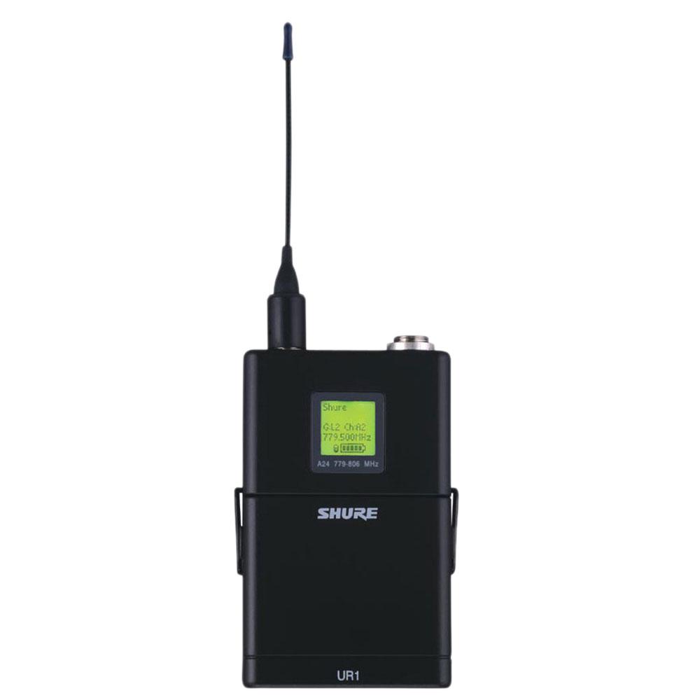 SHURE UR1-G1HK ワイヤレスシステム ボディパック型送信機