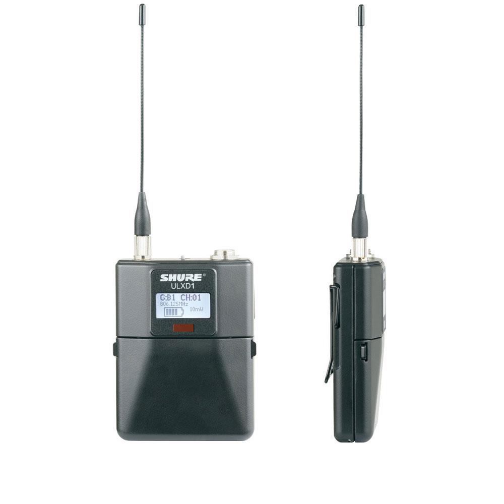 SHURE ULXD1-G50 ワイヤレスシステム ボディーパック型送信
