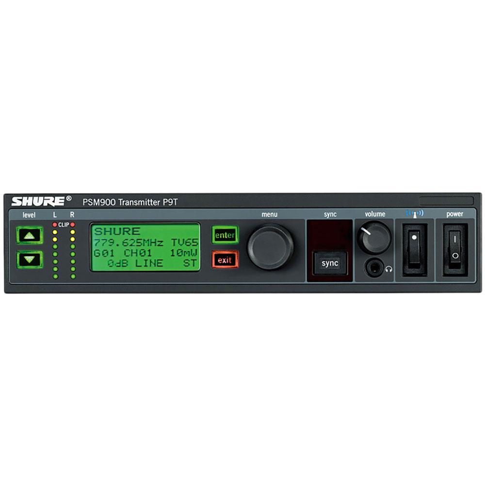 SHURE P9T-K1 インイヤーモニターシステム シングルチャンネル送信機