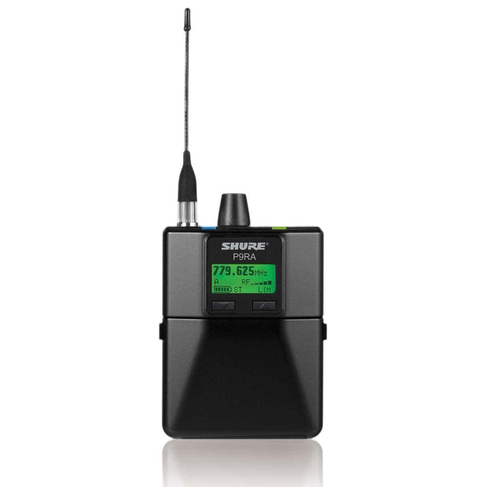 SHURE P9RA-K1 インイヤー・モニターシステム ボディーパック型受信機