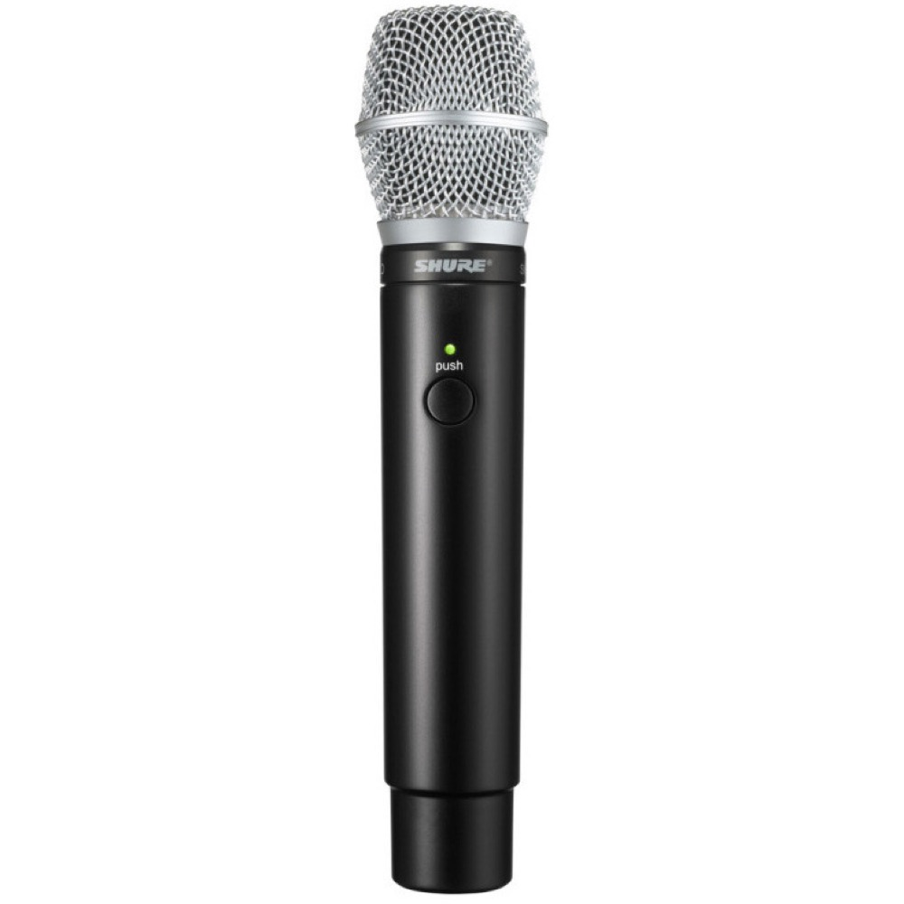 SHURE MXW2/SM86-Z12 Microflex Wireless ハンドヘルド型送信機