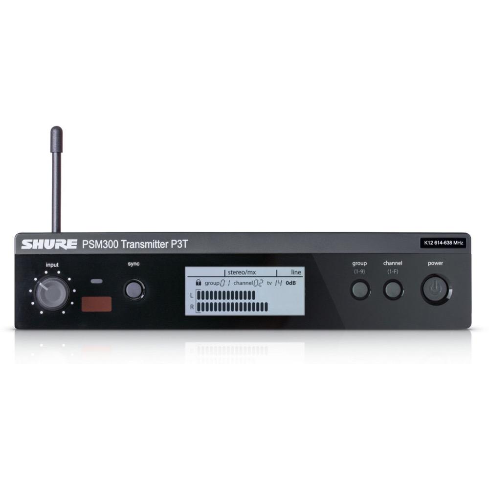 SHURE P3T-L18 ワイヤレスインイヤーモニターシステム PSM300用送信機