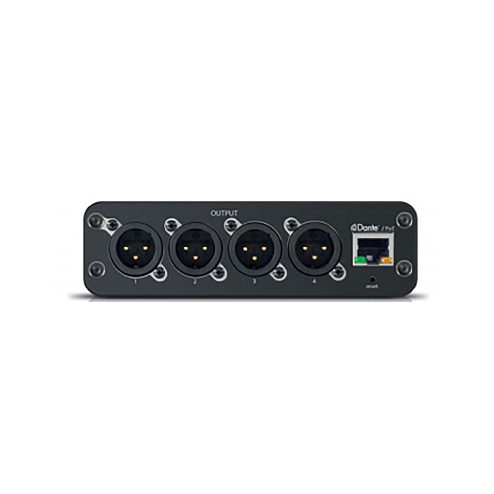SHURE ANI4OUT-XLR Dante デジタルオーディオ・インターフェース