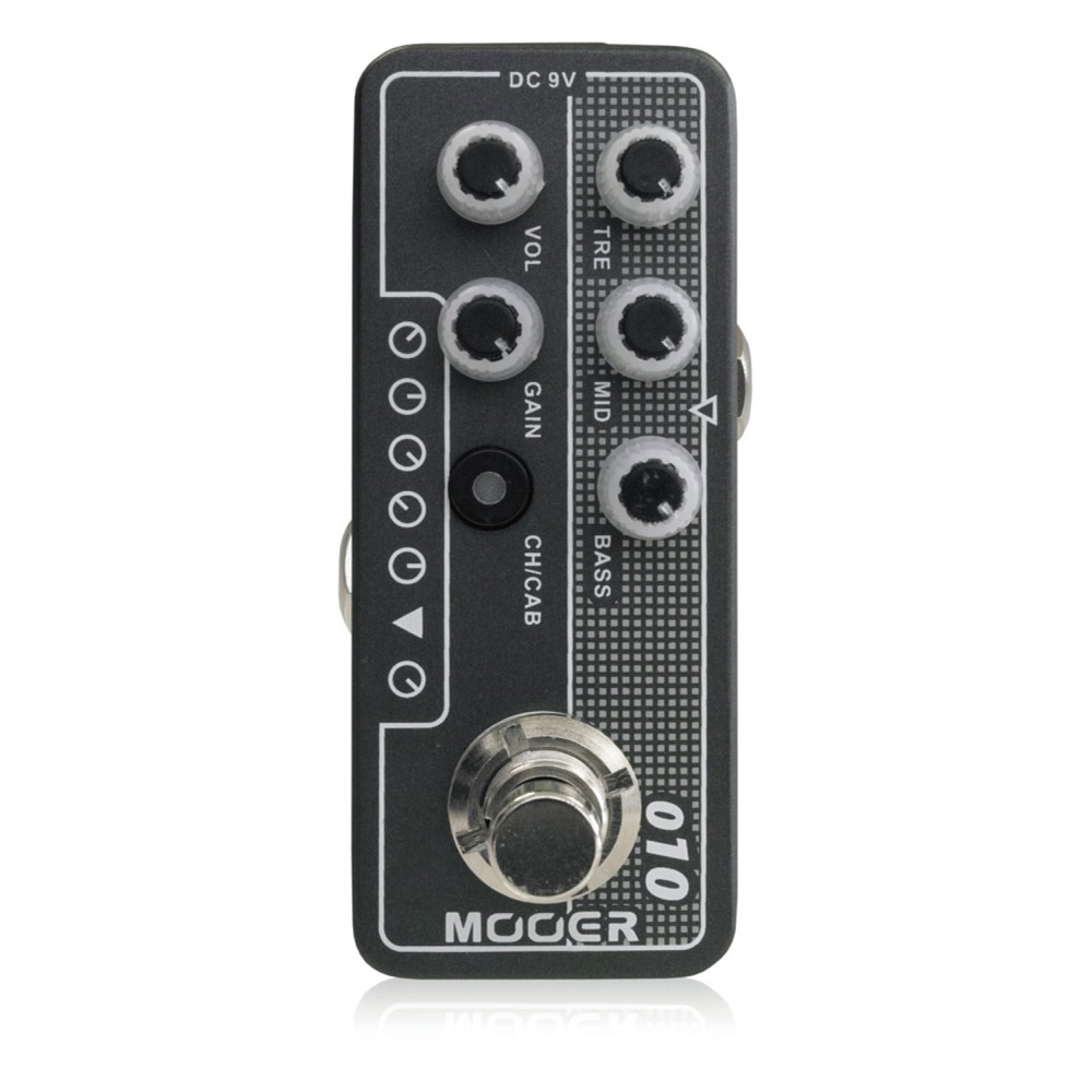 Mooer Micro Preamp 010 プリアンプ ギターエフェクター