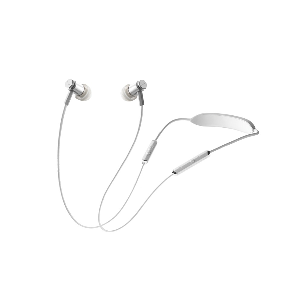V-moda FORZA METALLO WIRELESS FRZM-W-WSILVER ワイヤレススポーツイヤホン