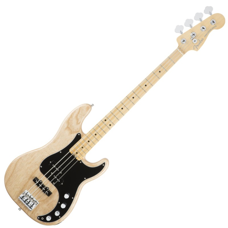 Fender American Elite Precision Bass ASH NAT MN エレキベース