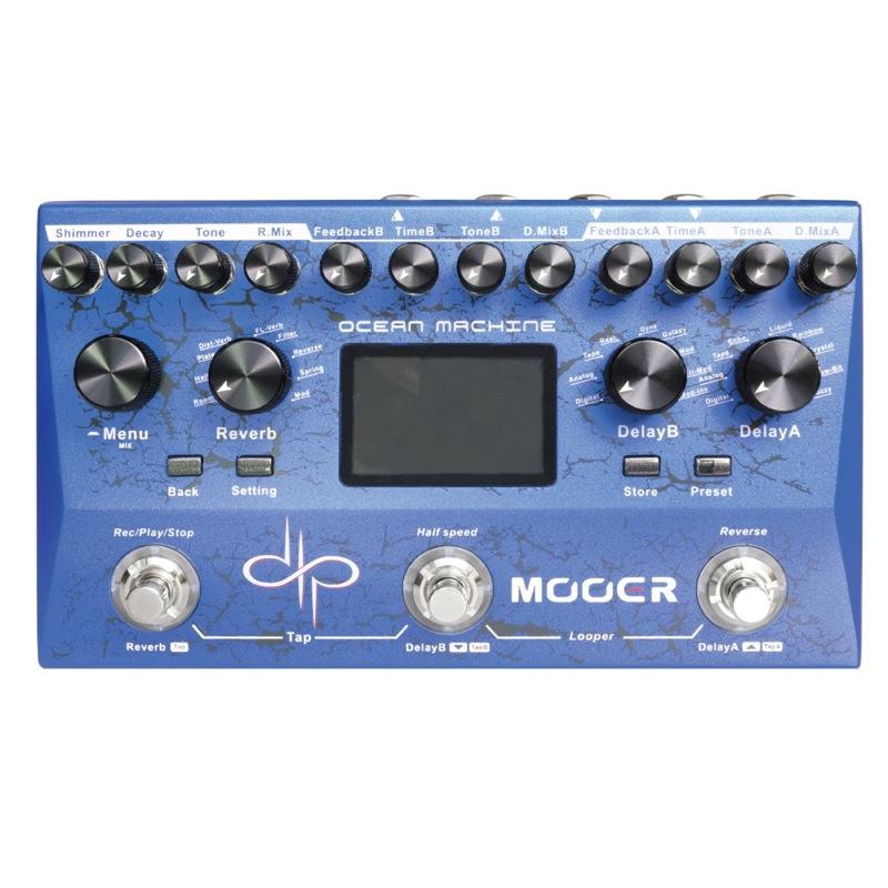 Mooer Ocean Machine Machine Mooer 空間系マルチエフェクター, カコグン:f5437336 --- officewill.xsrv.jp