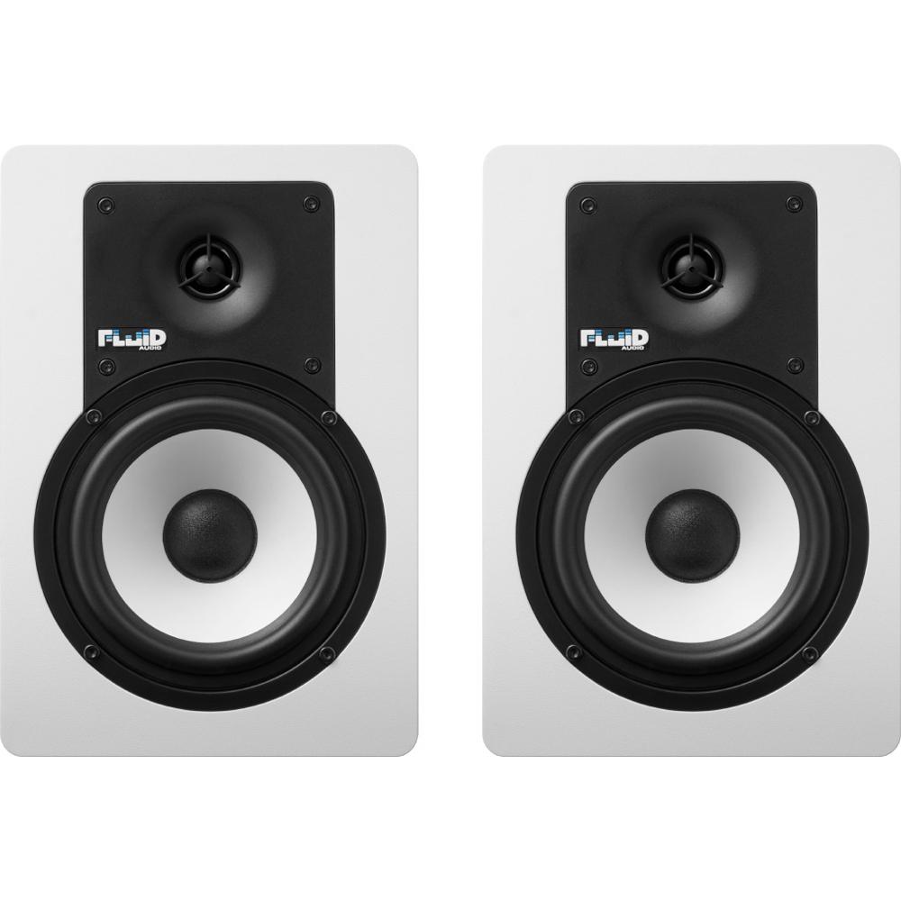 Fluid Audio C5W 40W(20W+20W) モニタースピーカー ホワイトカラー