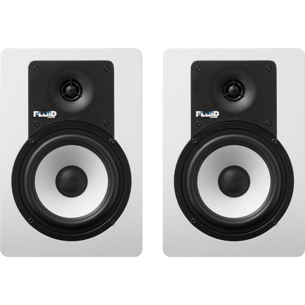 Fluid Audio C5BTW 40W(20W+20W) モニタースピーカー Bluetooth対応 ホワイトカラー