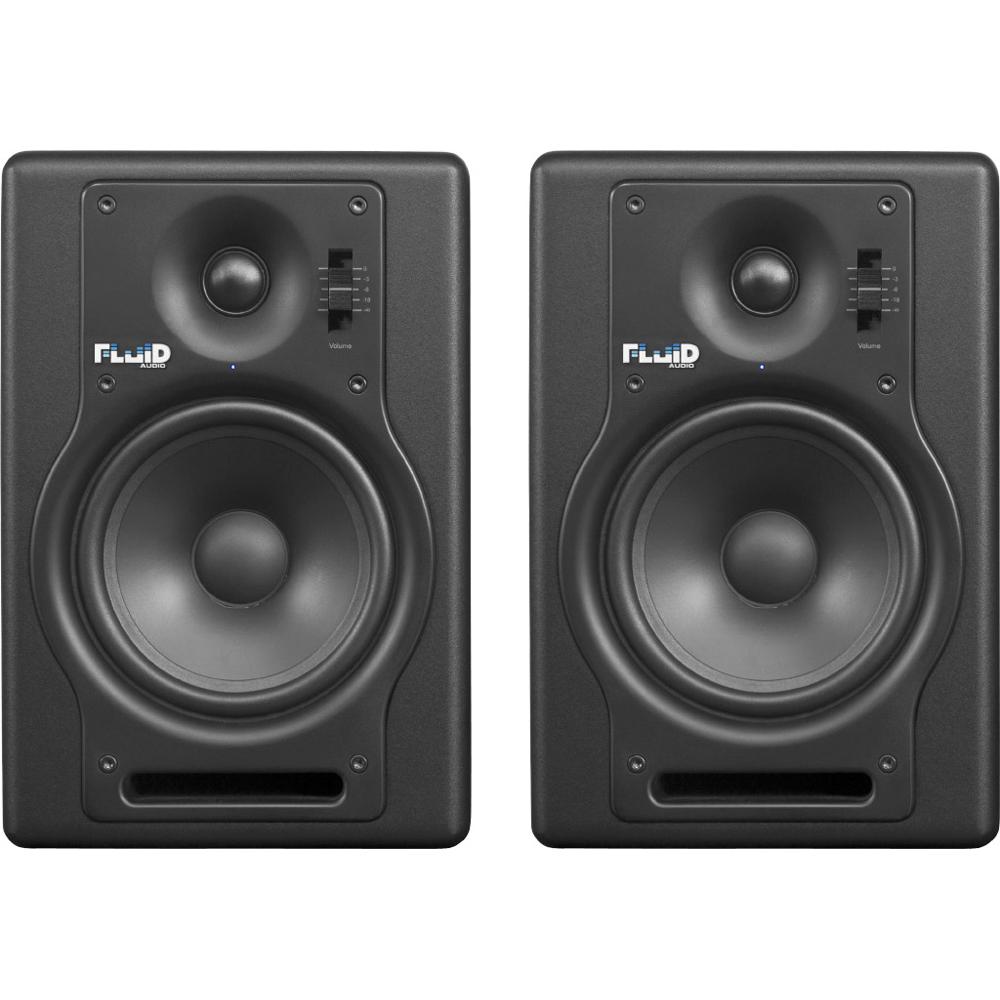 Fluid Audio F5 バイアンプ(40W+30W) ブラック モニタースピーカー