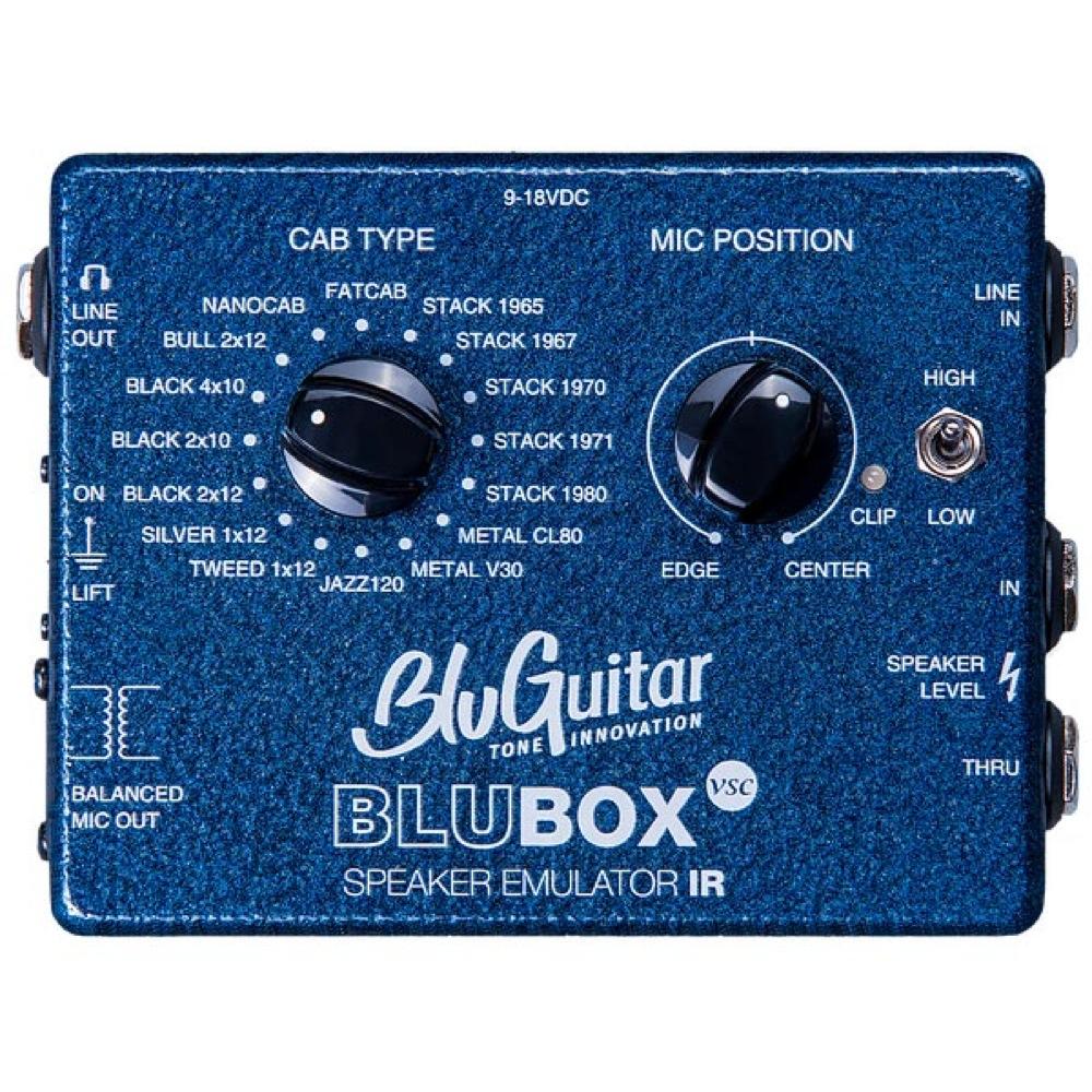BluGuitar BluBOX スピーカーシミュレーター DIボックス