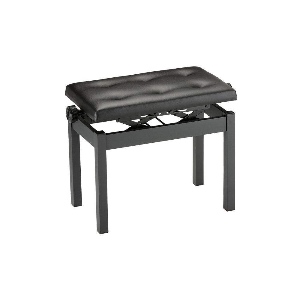 KORG PC-770-BK ピアノイス ピアノ用高低自在椅子 ピアノベンチ 幅広タイプ