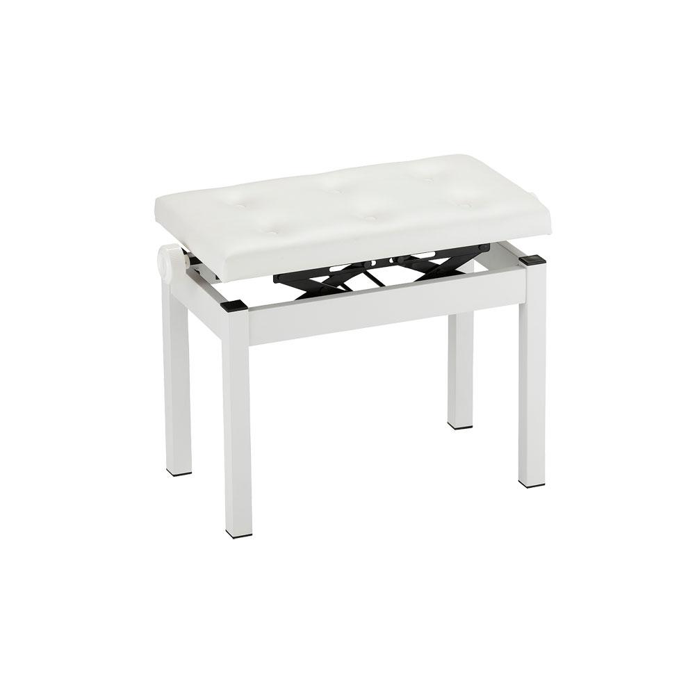 KORG PC-770-WH ピアノイス ピアノ用高低自在椅子 ピアノベンチ 幅広タイプ