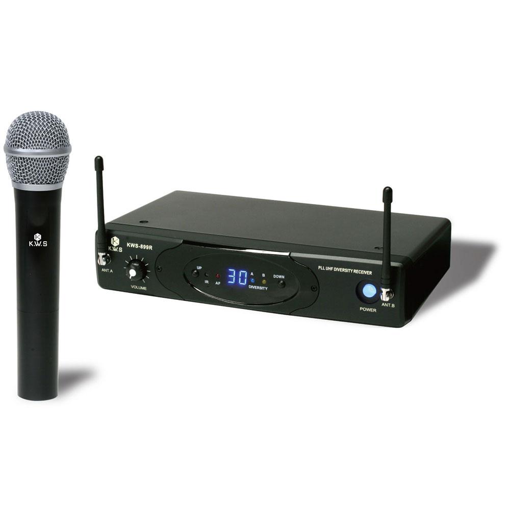 K.W.S KWS-899H/H ワイヤレスシステム ハンドマイクタイプ