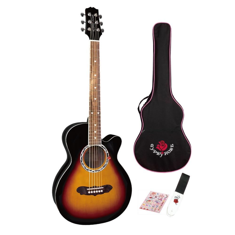 GYPSYROSE GRA1K VS アコースティックギター