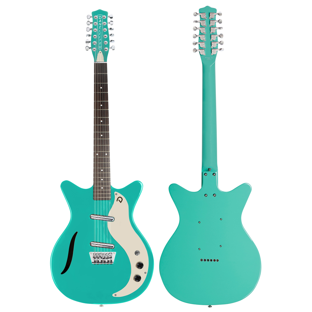 Danelectro VINTAGE 12 STRING DAQU 12弦エレキギター