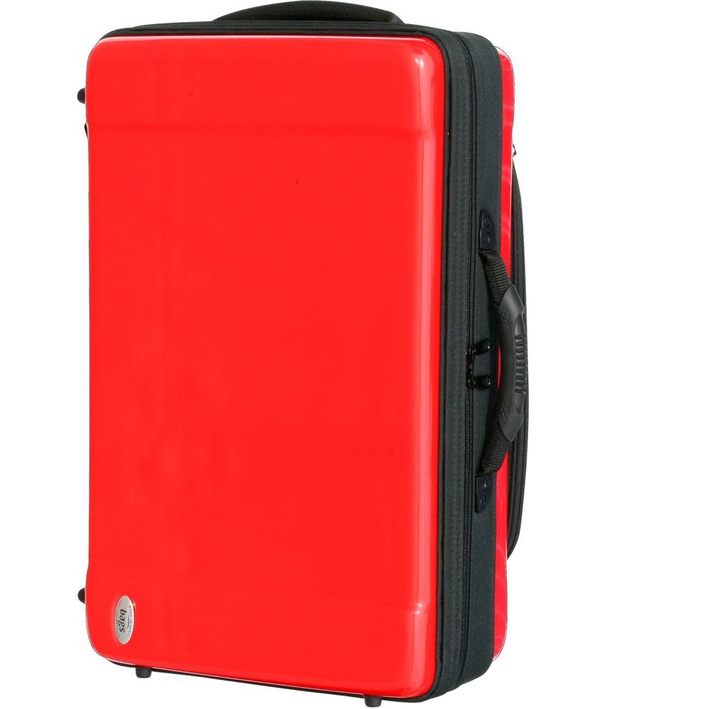 bags EF4TR RED トランペット4本用ファイバーケース