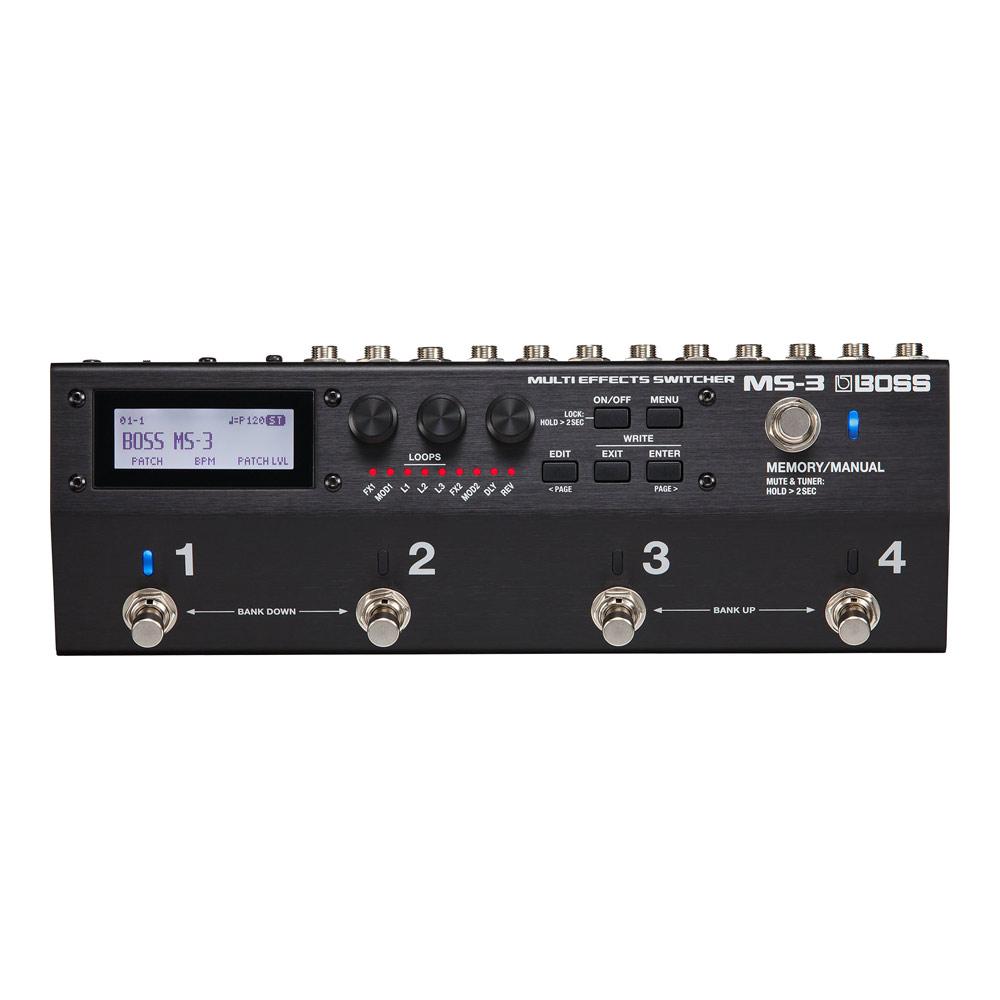 BOSS MS-3 Multi Effects Switcher マルチエフェクター&スイッチャーシステム