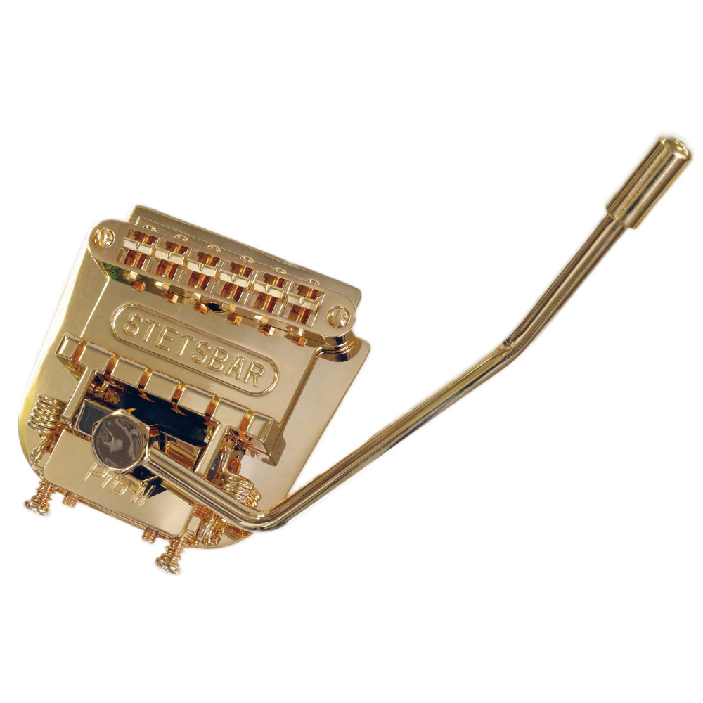 Stetsbar S-Style Gold トレモロシステム