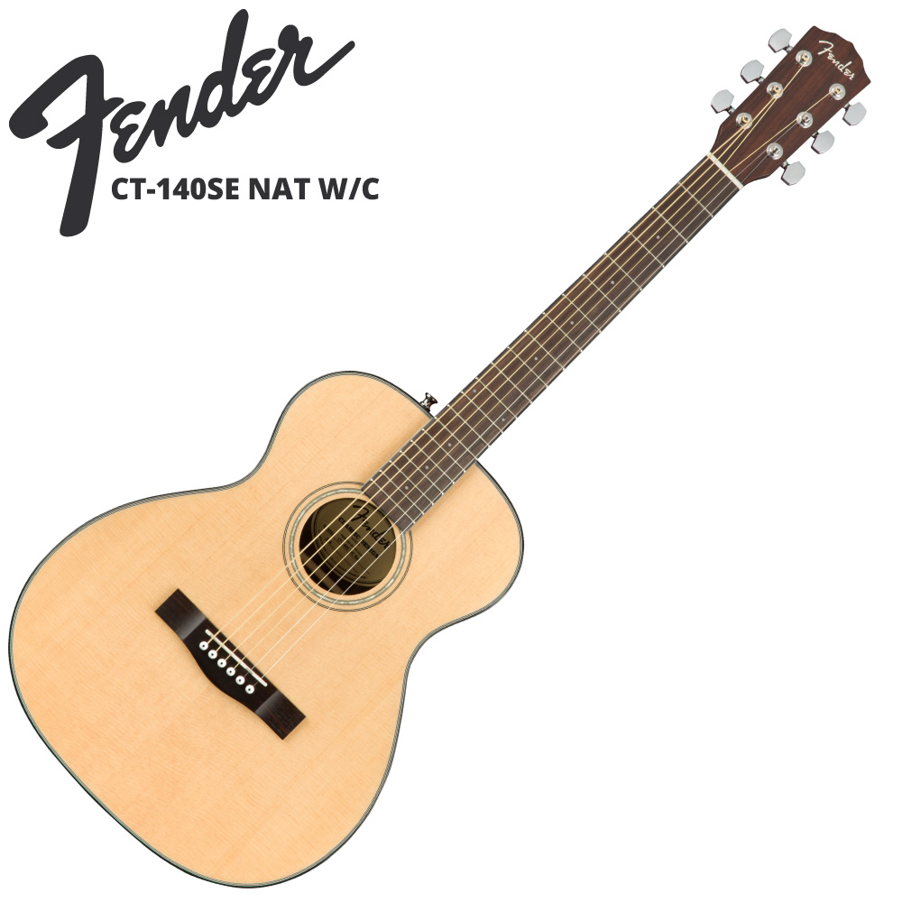 Fender CT-140SE Natural アコースティックギター