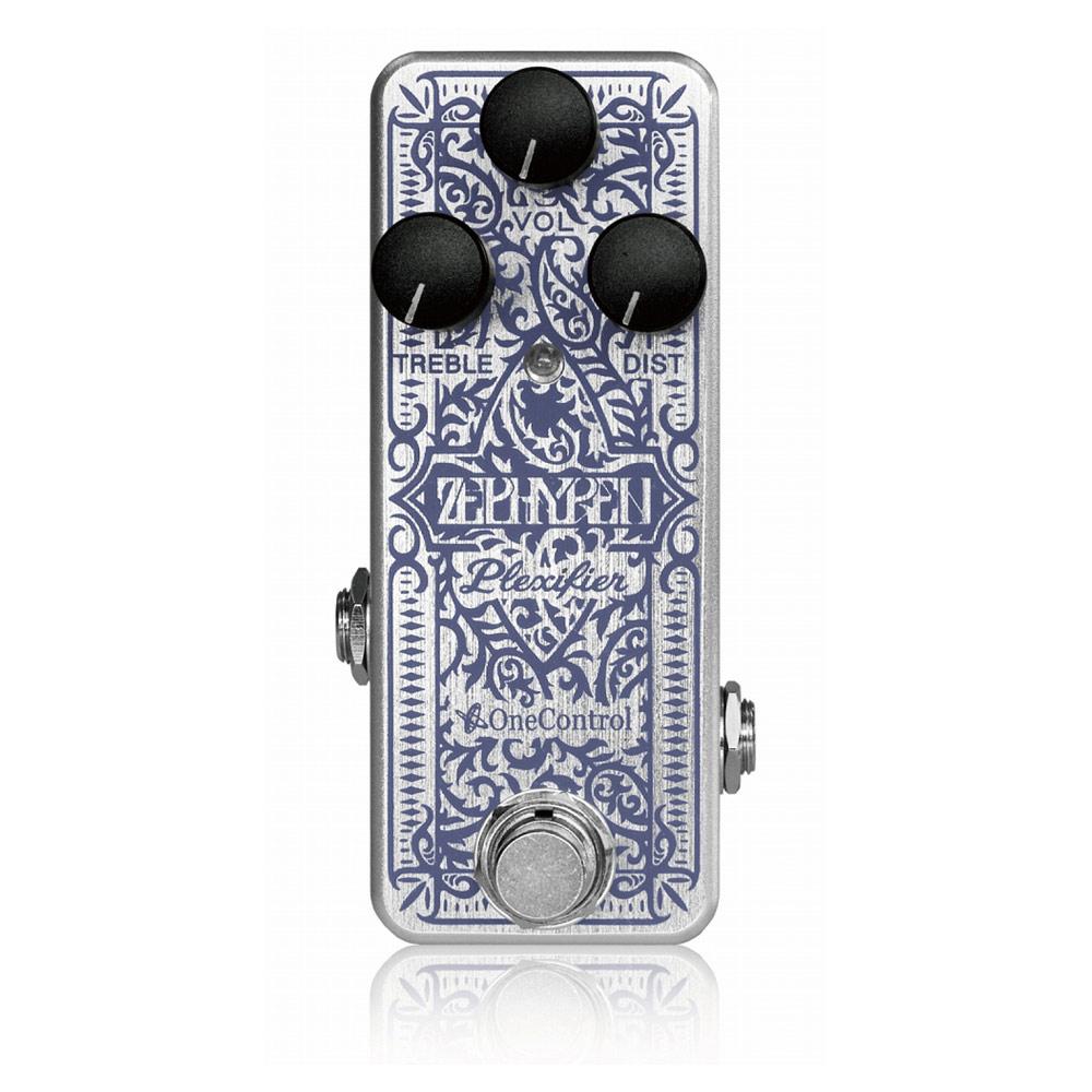 One Control × Zephyren Zephyren Plexifier オーバードライブ ギターエフェクター