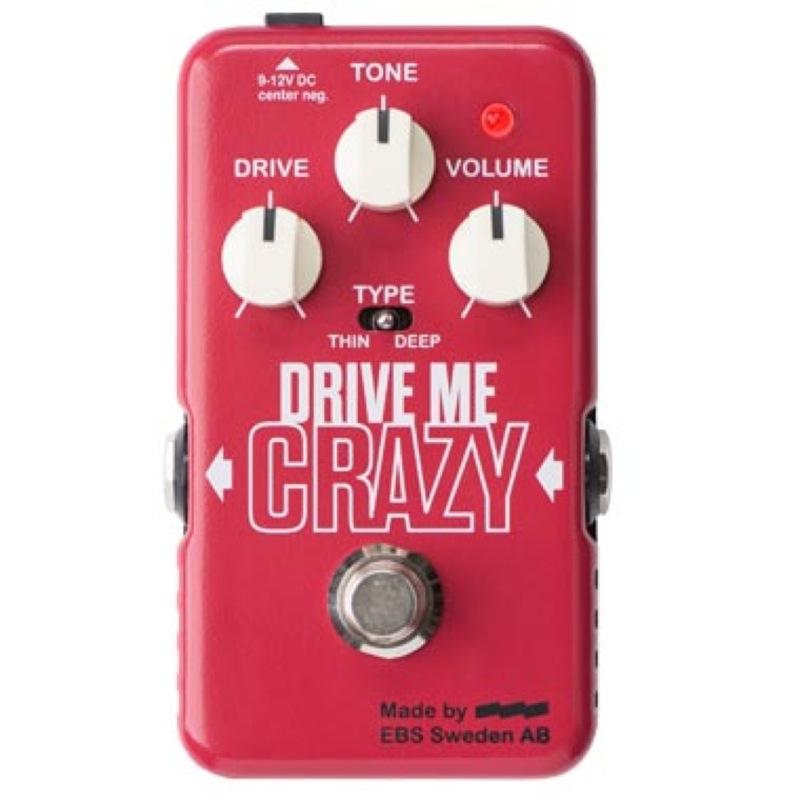 【内祝い】 EBS ディストーション Drive Drive エフェクター Me Crazy ディストーション エフェクター, 着物かりんとう:cf24f73a --- canoncity.azurewebsites.net