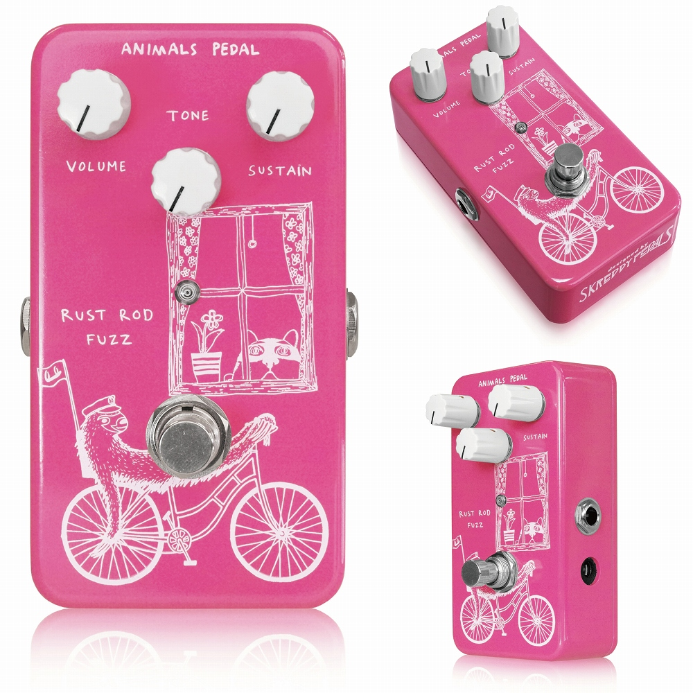 Animals Pedal Rust Rod Fuzz ファズ エフェクター