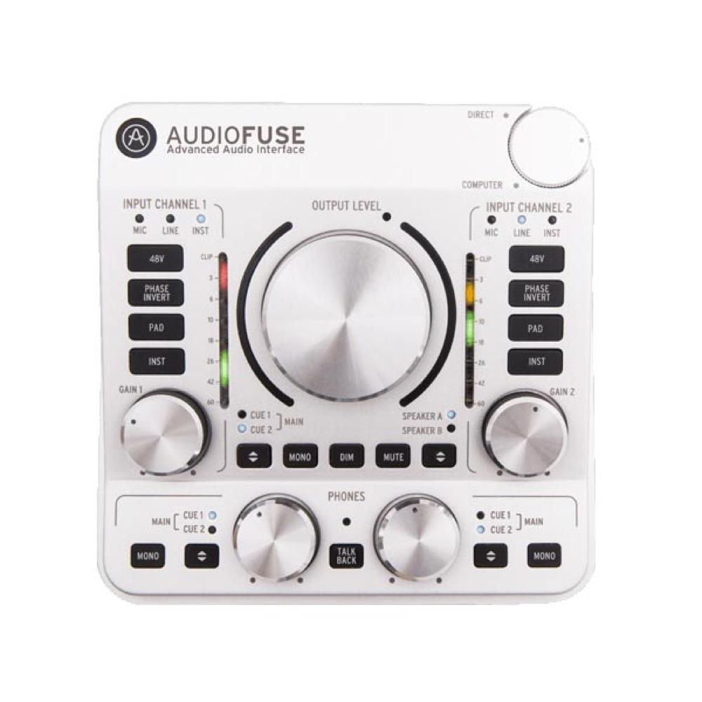 ARTURIA Audio Fuse SV オーディオインターフェイス