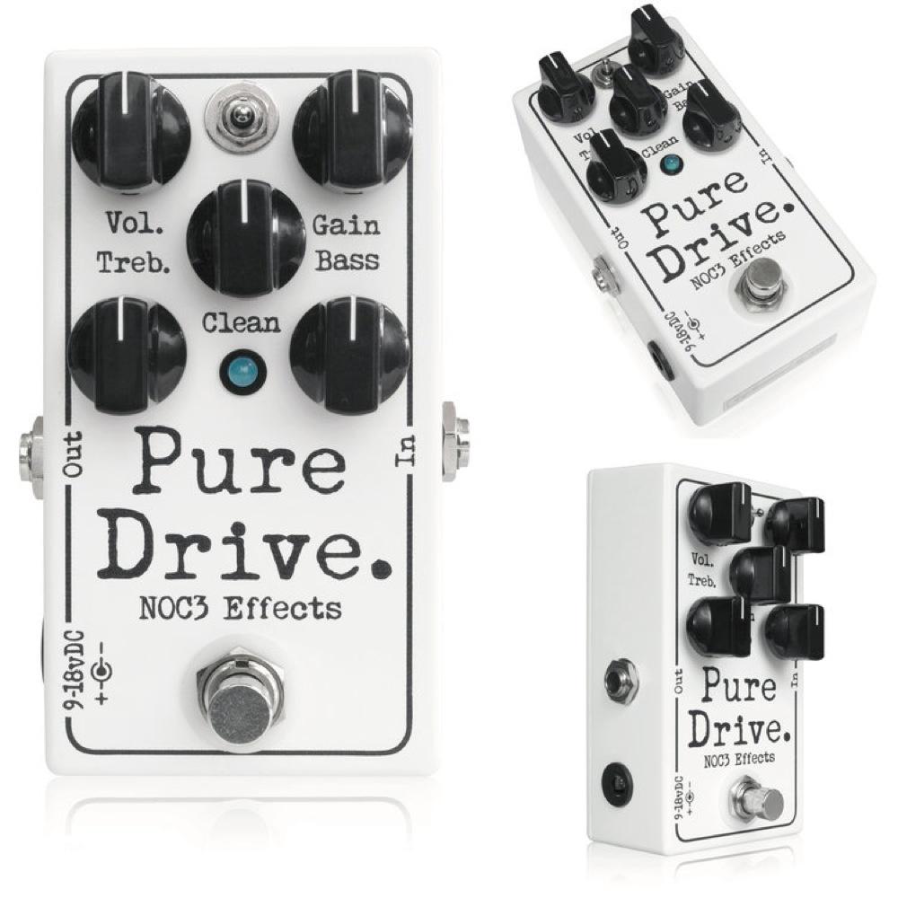 NOC3 Pure Drive オーバードライブ エフェクター