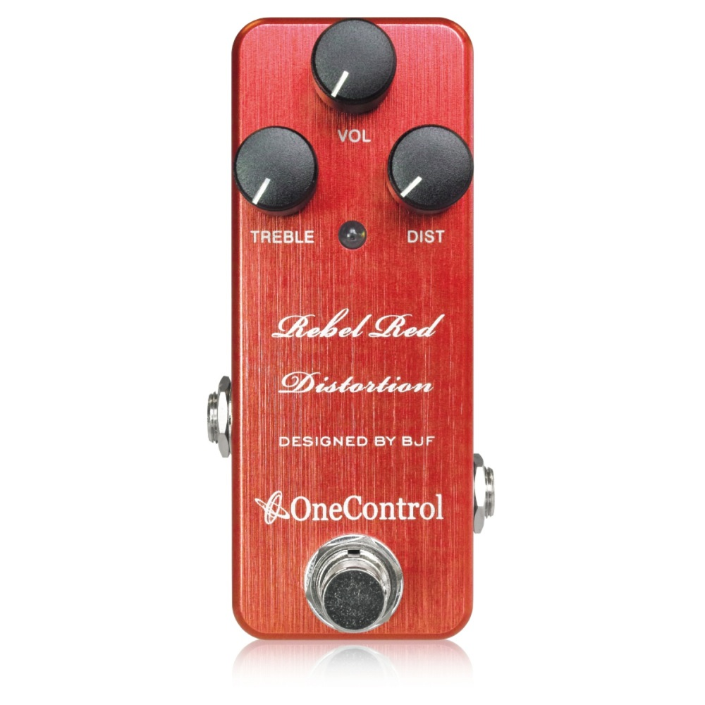 One Control Rebel Red Distortion ディストーションペダル ギターエフェクター