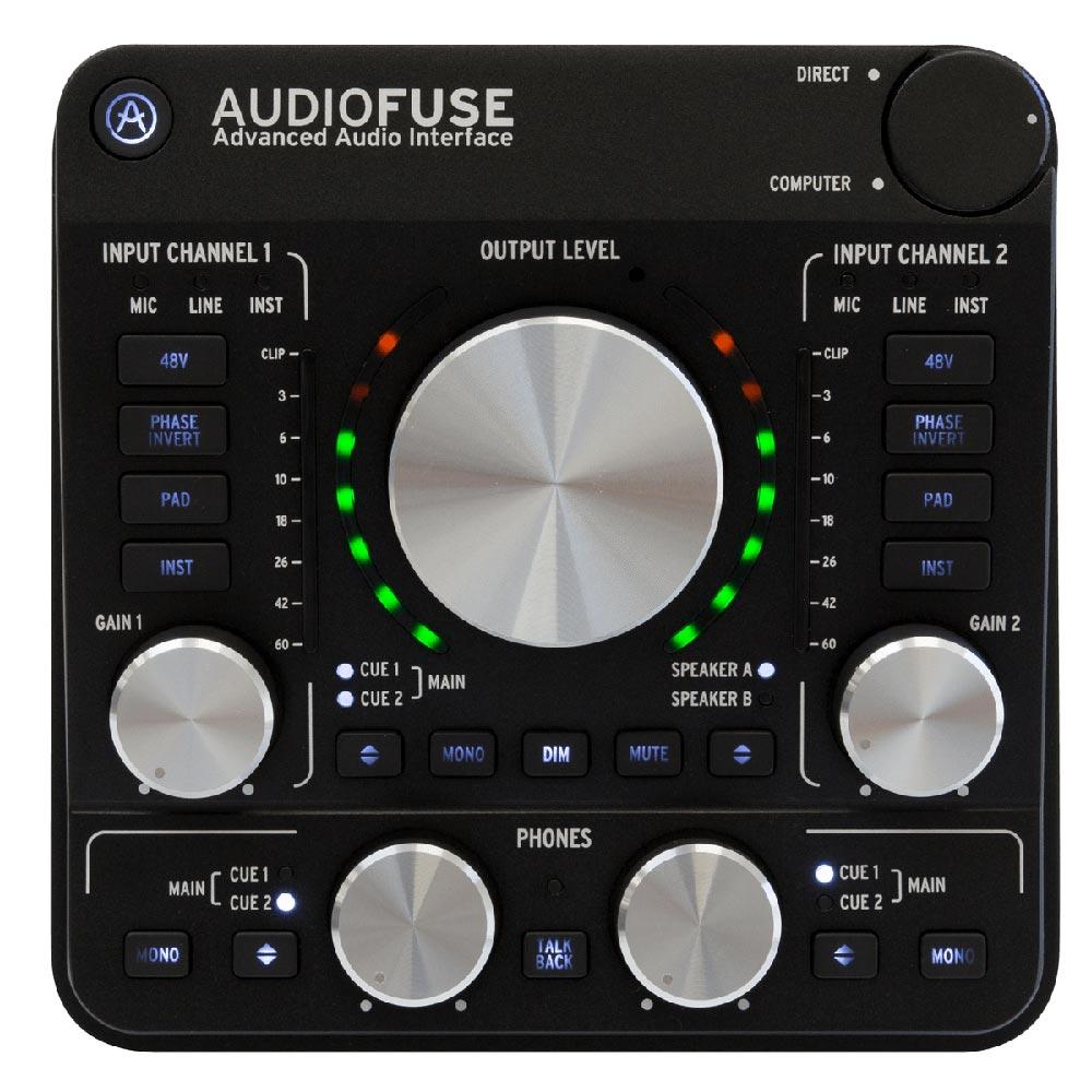 ARTURIA Audio Fuse BK オーディオインターフェイス