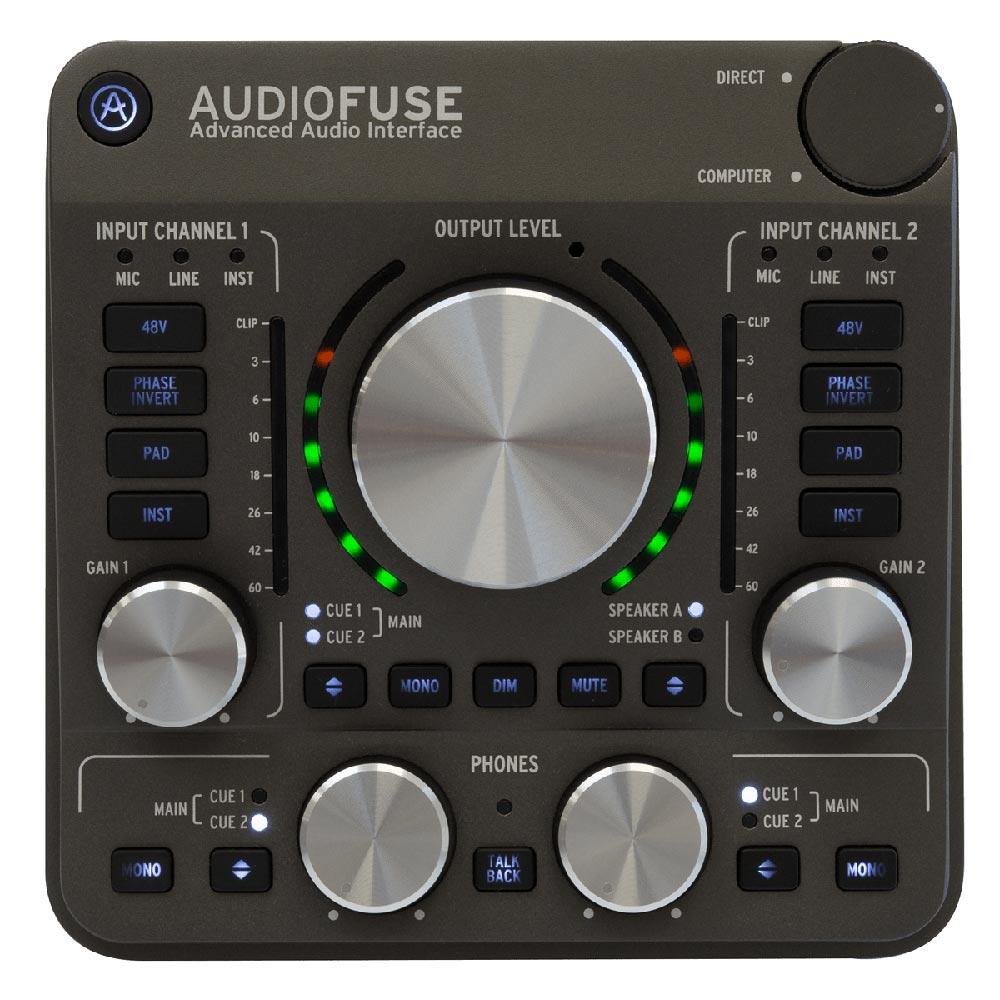 ARTURIA Audio Fuse GR オーディオインターフェイス