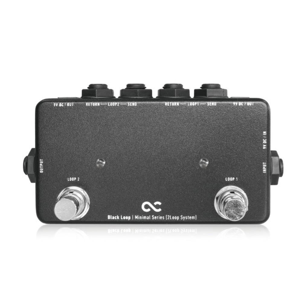 One Control Minimal Series Black Loop 2Loop with 2DC OUT ループボックス
